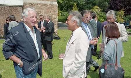 Michael Winner with Brian Tesler (LWT Managing Director) and Christopher Bland (LWT Chairman)