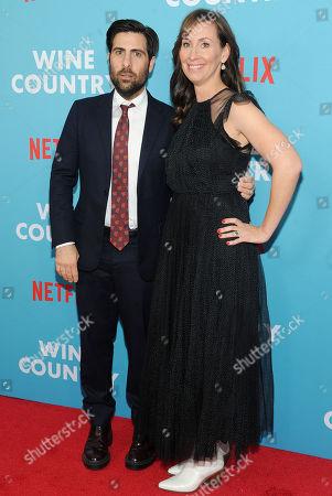 Jason Schwartzman and Liz Cackowski