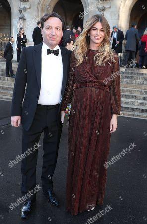 Emmanuel Perrotin and Lorena Vergani