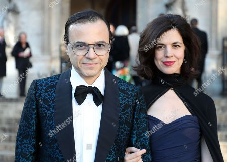 Stock Photo of Bertrand Burgalat, Vanessa Seward