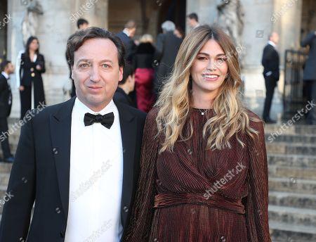 Stock Image of Emmanuel Perrotin and Lorena Vergani