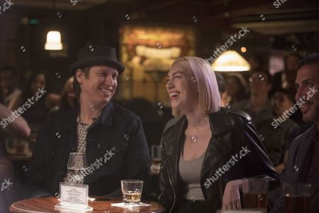Pete Holmes as Pete Holmes and Madeline Wise as Kat