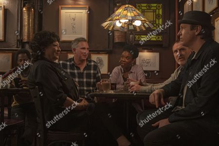 Wayne Federman as Wayne Federman, Joyelle Johnson as Joyelle Johnson, Colin Quinn as Colin Quinn and Pete Holmes as Pete Holmes