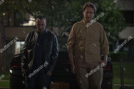 Stock Photo of Dov Davidoff as Jason and Pete Holmes as Pete Holmes