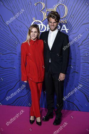 Stock Photo of Gaia Repossi et Jeremy Everett