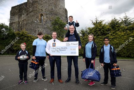 Editorial picture of ALDI & IRFU Sticker Competition Winners, Wexford  - 09 May 2019