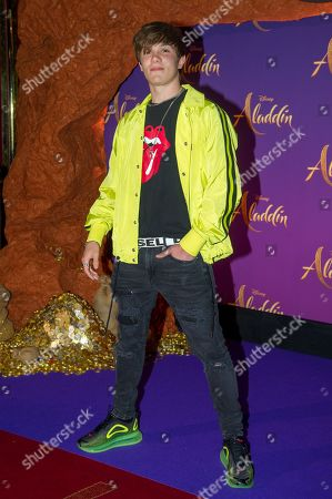 Editorial picture of 'Aladdin' Gala Film Screening, Paris, France - 08 May 2019