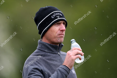 Nicolas Colsaerts of Belgium on the 17th during Day One of the Betfred British Masters at Hillside Golf Club