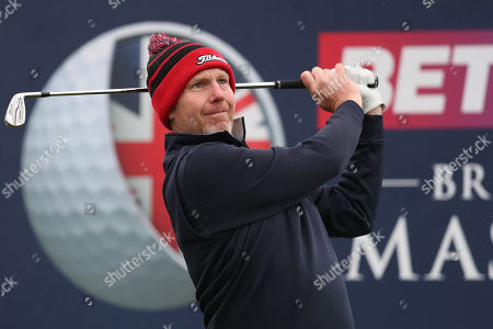 Editorial photo of Betfred British Masters, Day One, Golf, Hillside Golf Club, Southport, UK - 09 May 2019
