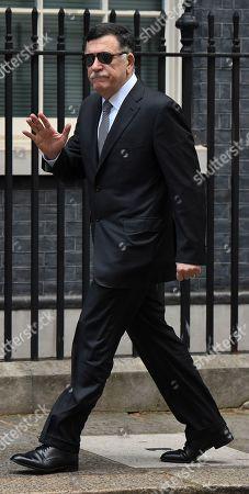 Fayez al-Sarraj PM of the Govt of National Accord of Libya