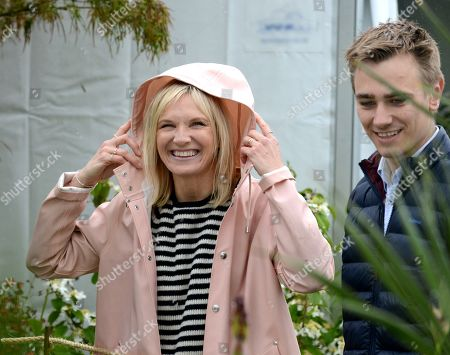 Jo Whiley, RHS Ambassador Jamie Butterworth