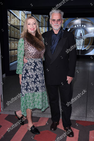 Stock Photo of Trevor Eve and Sharon Maughan