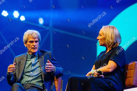 Stock Picture of Sir Dr John Hegarty and Emma Harman
