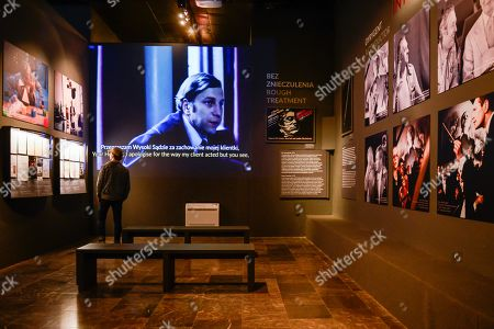 Editorial picture of Andrzej Wajda exhibition in Krakow, Poland - 08 May 2019
