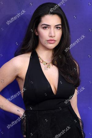 Editorial photo of 'Aladdin' film premiere, London, UK - 09 May 2019