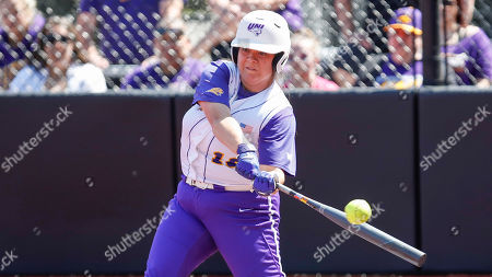 Northern Iowa's Jaclyn Spencer bats against Loyola during an NCAA softball game on in Chicago