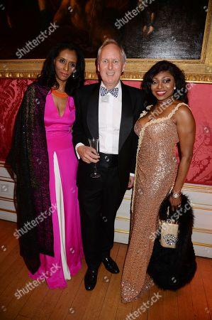 Zeinab Badawi, James Lewis and Patti Boulaye