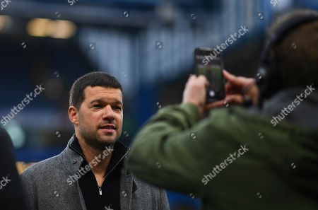 Stock Picture of Former Chelsea and Germany player Michael Ballack poses for a photo