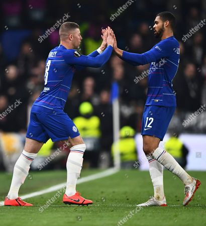 Ross Barkley of Chelsea replaces Ruben Loftus Cheek