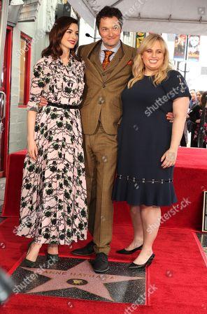 Anne Hathaway, Chris Addison, Director, Rebel Wilson