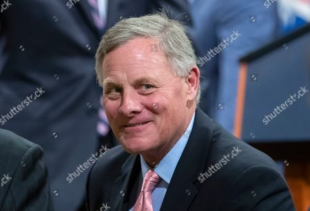 Republican Senator from North Carolina Richard Burr attends the Farewell Ceremony for Deputy Attorney General Rod Rosenstein at the Department Justice in Washington, DC, USA, 09 May 2019. Burr is chairman of the Senate Intelligence Committee, which subpoenaed Donald Trump Jr., the son of US President Donald J. Trump.
