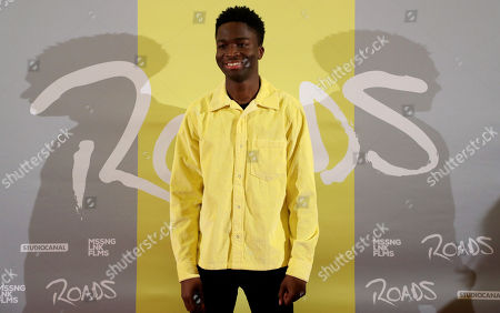 Stephane Bak poses during the premiere of 'Roads' at the Lichtburg Cinema in Essen, Germany, 09 May 2019.