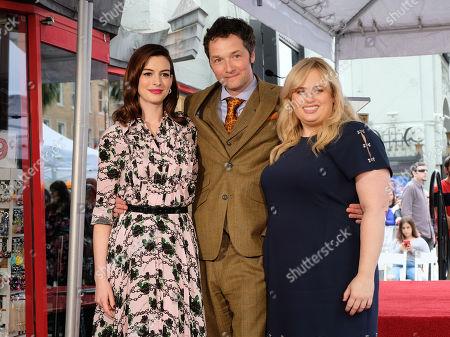 Anne Hathaway, Chris Addison, Rebel Wilson