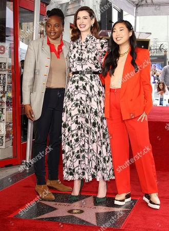 Dee Rees, Anne Hathaway, Awkwafina