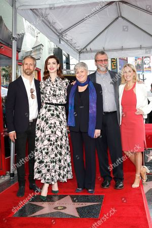 Editorial image of Anne Hathaway receives a star on the Hollywood Walk of Fame, Los Angeles, USA - 09 May 2019