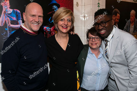 Stock Photo of Christopher Harper (Producer), Marianne Elliott (Co-Director), Cindy Tolan (Producer) and Kwame Kwei-Armah (Artistic Director)
