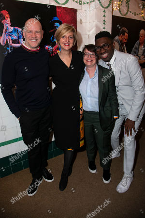 Christopher Harper (Producer), Marianne Elliott (Co-Director), Cindy Tolan (Producer) and Kwame Kwei-Armah (Artistic Director)