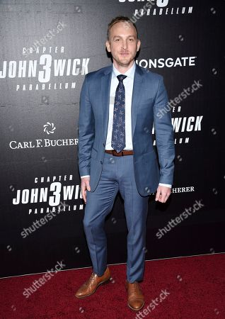 "Robin Lord Taylor attends the world premiere of ""John Wick: Chapter 3 - Parabellum"" at One Hanson, in New York"