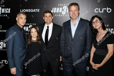 Chad Stahelski (Director), Erica Lee, Jason Constantine, Basil Iwanyk and Eda Kowan