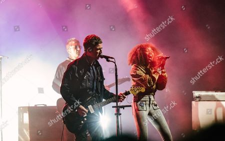Editorial image of Noel Gallagher's High Flying Birds in concert, London, UK - 09 May 2019