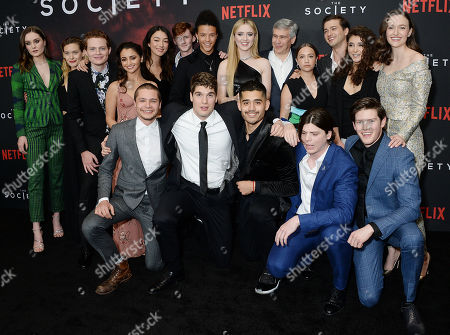 Editorial image of 'The Society' Season 1 premiere - Arrivals, Los Angeles, USA - 09 May 2019