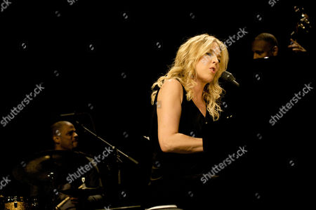 Editorial picture of Diane Krall in concert at the Royal Albert Hall, London, Britain - 28 Oct 2009