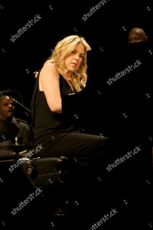 Editorial image of Diane Krall in concert at the Royal Albert Hall, London, Britain - 28 Oct 2009