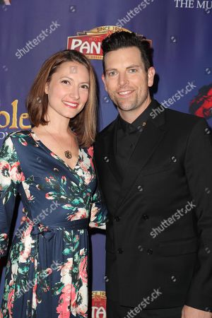 Stock Image of Laura Perloe and Chris Mann