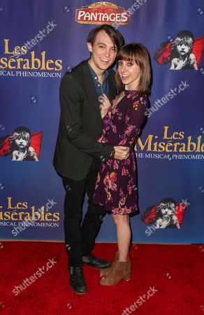 Stock Photo of Dylan Riley Snyder and Allisyn Ashley Arm