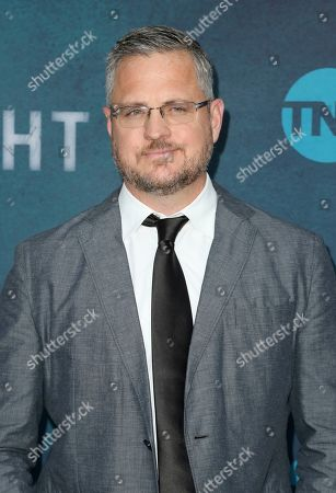 "Stock Image of Sam Sheridan arrives at the ""I Am the Night"" FYC event at the Television Academy Theater, in Los Angeles"