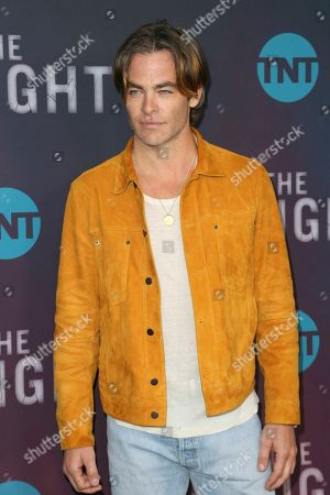 """Chris Pine arrives at the """"I Am the Night"""" FYC event at the Television Academy Theater, in Los Angeles"""