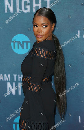 """Golden Brooks arrives at the """"I Am the Night"""" FYC event at the Television Academy Theater, in Los Angeles"""