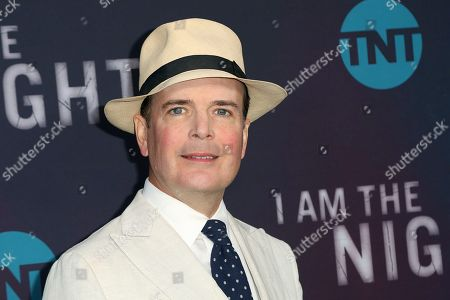 "Stock Picture of Jefferson Mays arrives at the ""I Am the Night"" FYC event at the Television Academy Theater, in Los Angeles"
