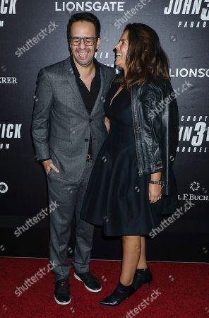 Lin-Manuel Miranda and Vanessa Nadal