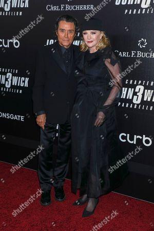 Ian McShane and Gwen Humble
