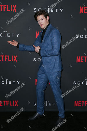 Editorial image of 'The Society' TV Show Season 1 premiere, Arrivals, Los Angeles, USA - 09 May 2019