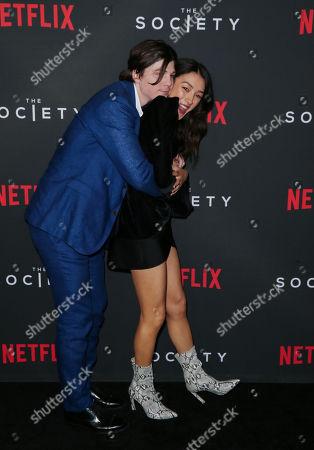 Jack Mulhern and Natasha Liu Bordizzo