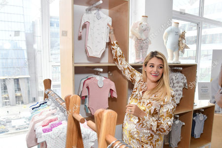 Stock Photo of CARTER'S INC. Daphne Oz joins Carter's to unveil their annual Little Baby Basics collection and celebrate Mother's Day on in New York
