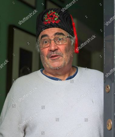Editorial picture of Danny Baker at his home, London, UK - 09 May 2019