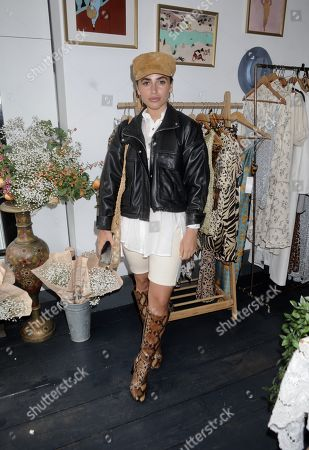 Editorial picture of Exclusive - Never Fully Dressed pop-up, London, UK - 09 May 2019
